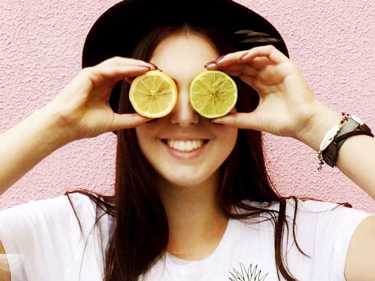 LEMON use for skincare using Natural Fruits