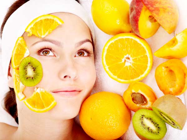 Skin Care using Natural Fruits