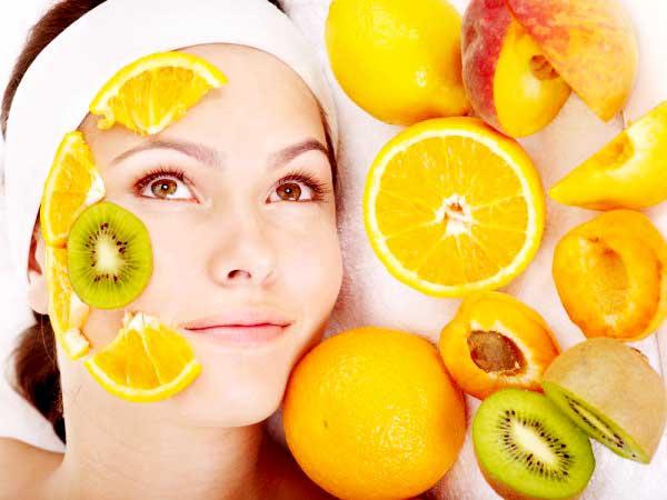 Skin Care using Natural Fruits