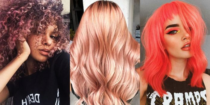 Coral Mermaid Ombre Color Style