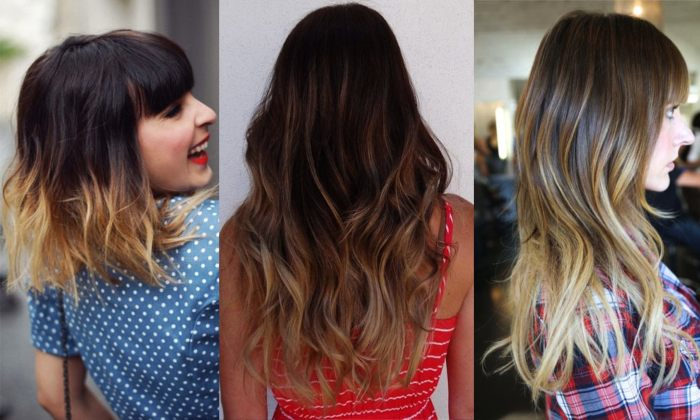 Ecaille Hottest Ombre Hair Color Style