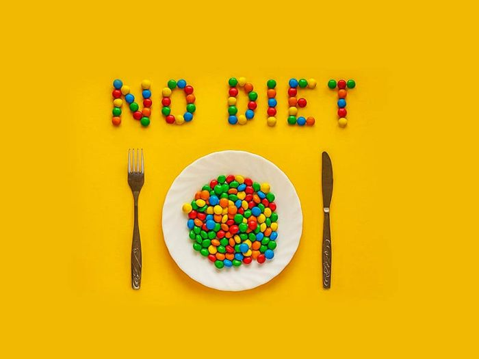 Avoid Dieting