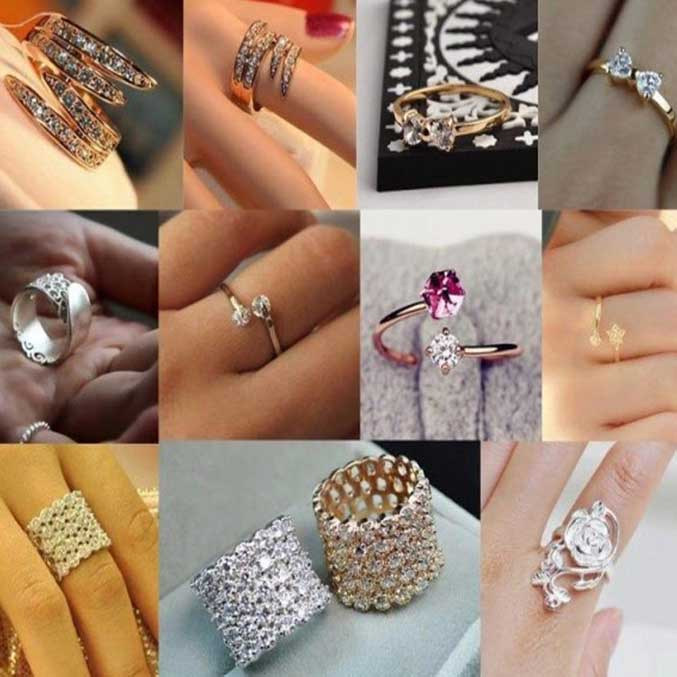 Beautiful Ladies Rings Fashion Collection 2020