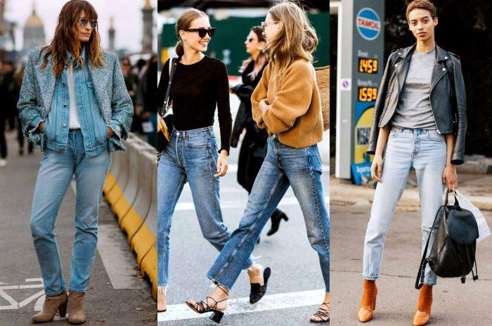 :Straight leg Jeans Fashion