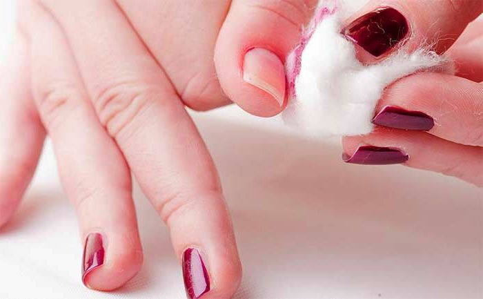 Avoid using harsh polish for healthy nails