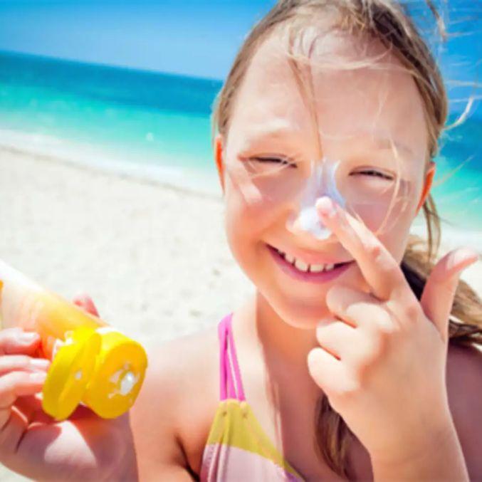 Hot avoid Sun Strokes skin care