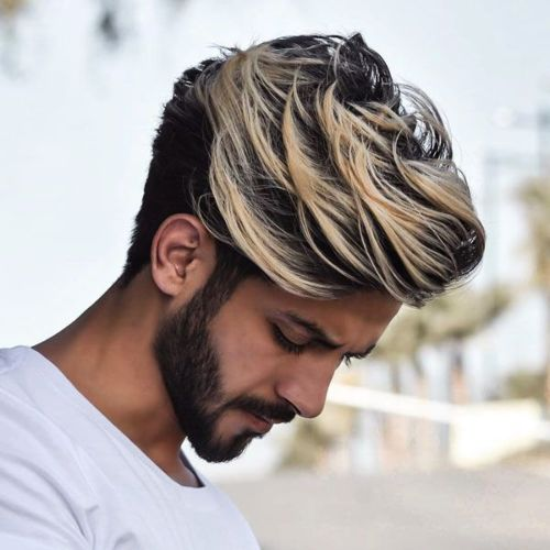 In Fashion Trends Blonde Hairstyles For Men Fashion Blogdays