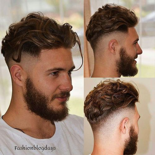 Disconnected Undercut European hairstyle