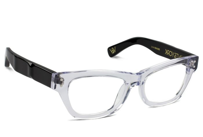Killa Eyeglasses in Crystal Clear