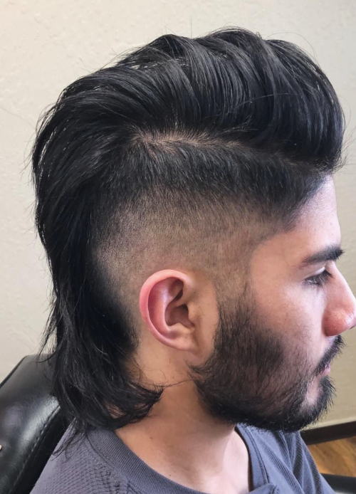 Pomp and Flow hair
