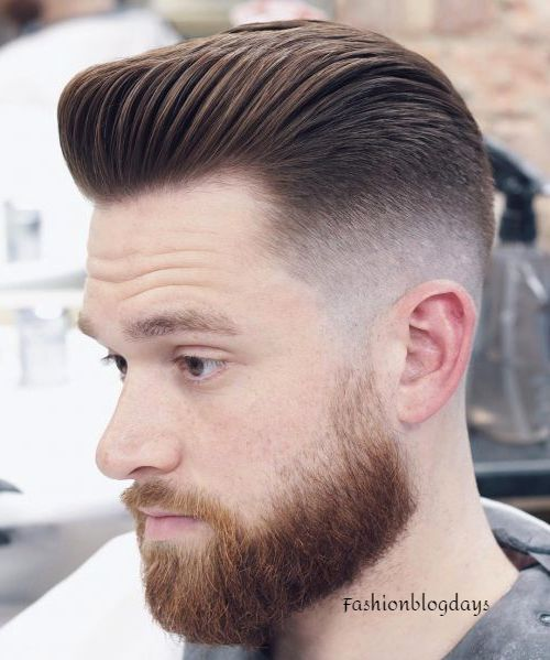 Pompadour Men's hairstyles