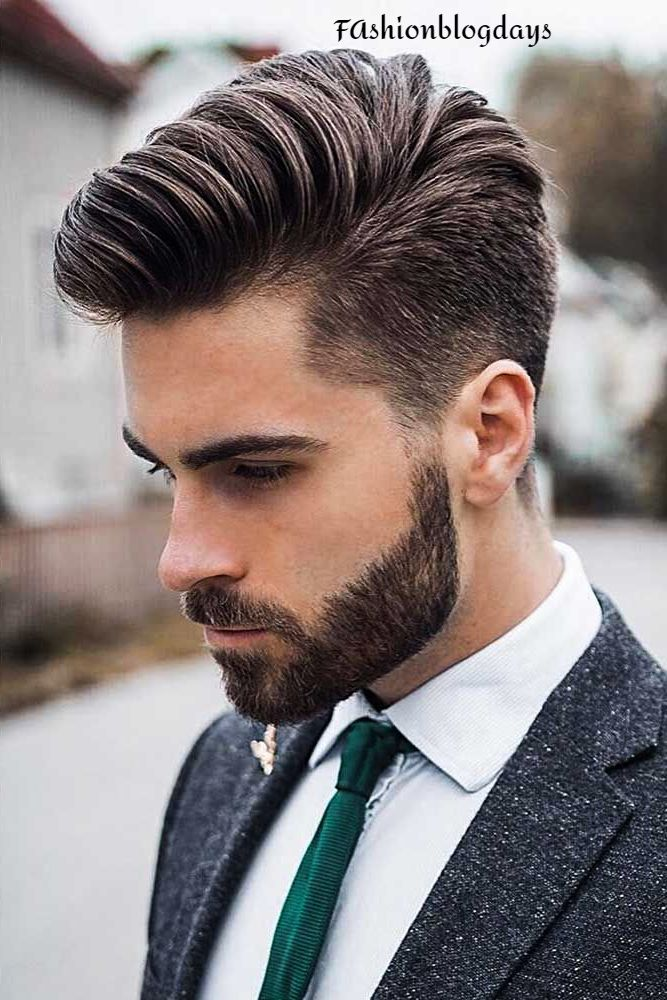 Preppy Cut European Men
