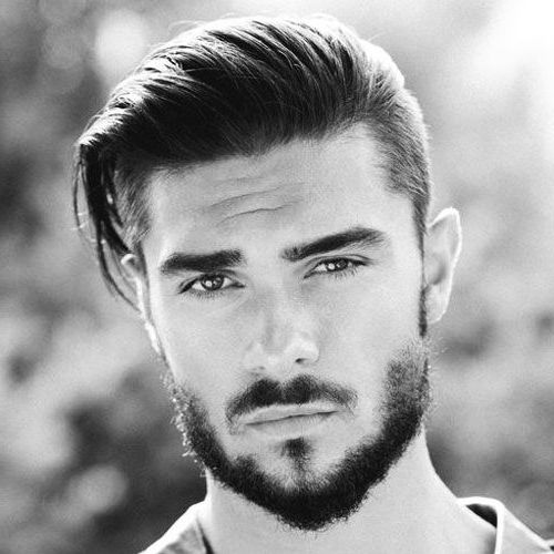 Textured Waves European men hairstyles