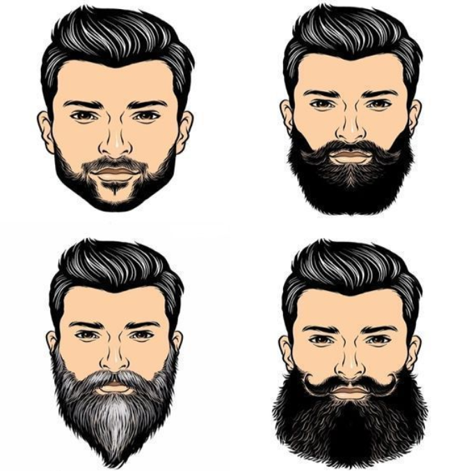 best men beard style
