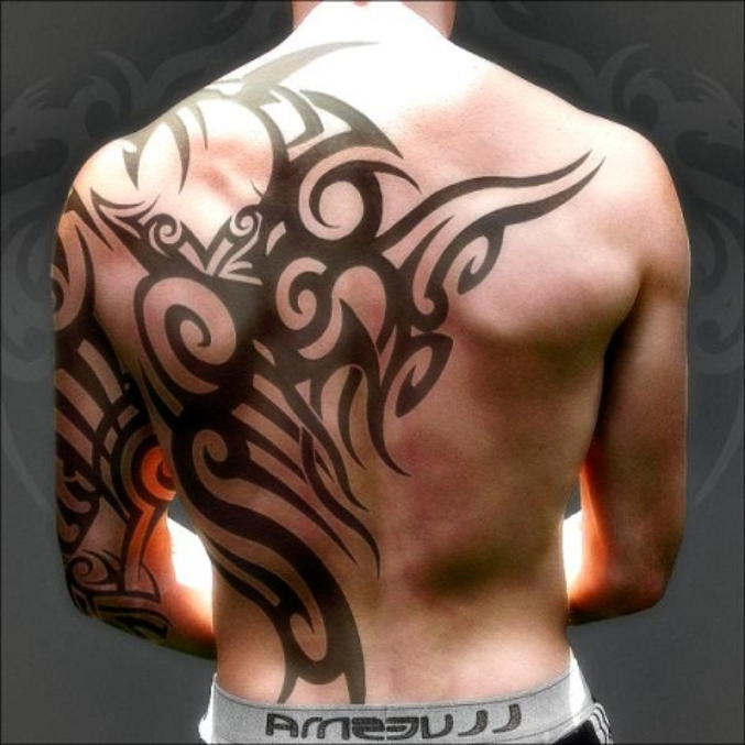 tribal meaningful tattoos for men