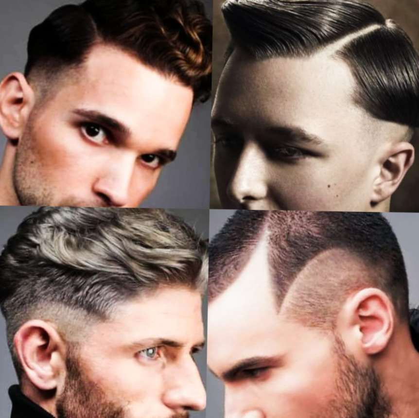 Attractive mid-Fade Haircuts