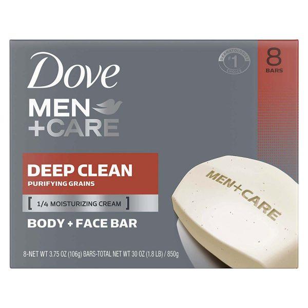 Dove Men + Care 'Deep Clean' Bar Soap