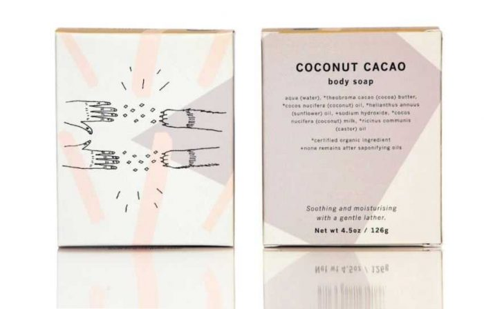 Meow Meow Tweet Coconut Cacao Body Soap