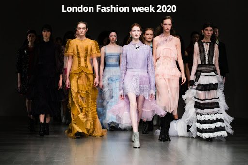 London Fashion week 2020 September schedule with Dates