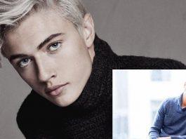 Male fashion models